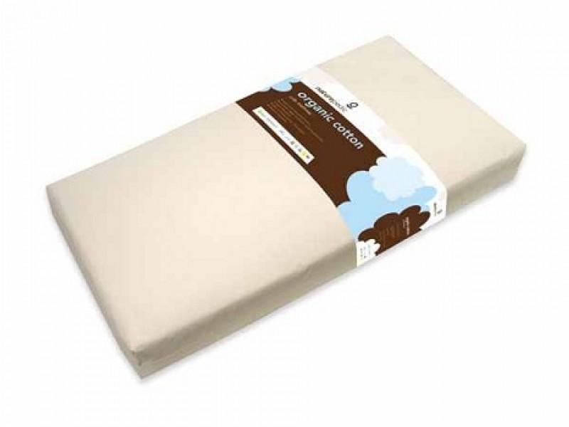 Organic cotton lightweight baby crib & toddler mattress