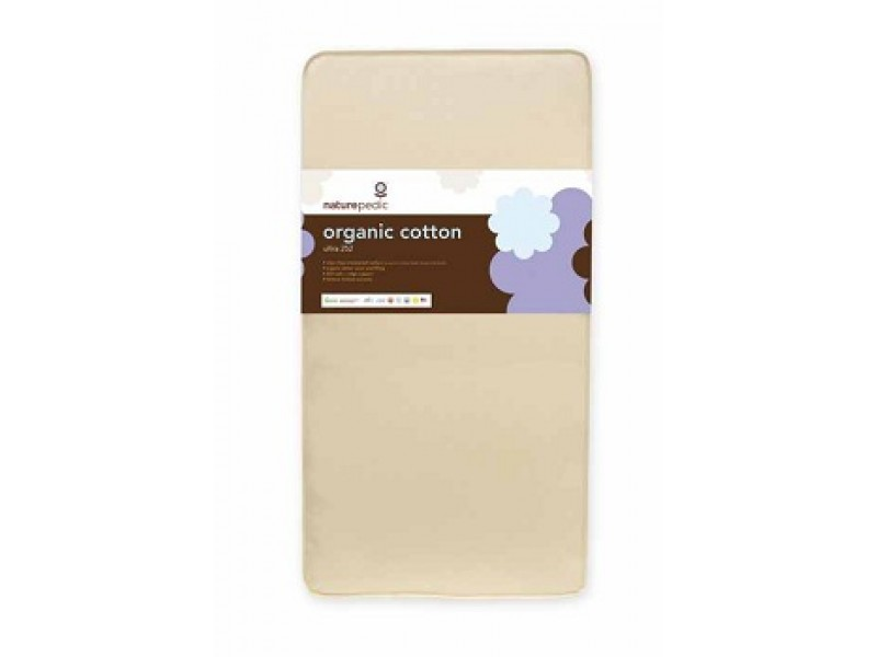 Organic cotton ultra baby crib & toddler mattress