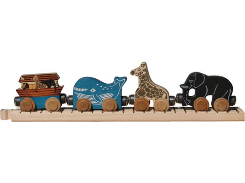 Name Train Noah's Ark Car Set