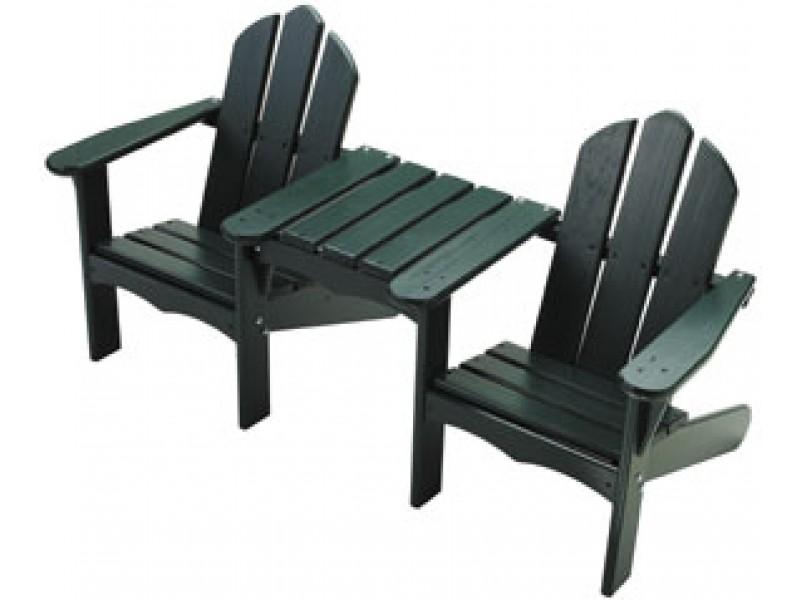 Tete-a-tete Kids Chair Green