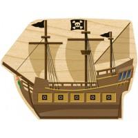 Hang-A-Name Starter, Pirate Ship