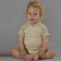Boys' Raglan Bodysuit - Green Tea/Pistachio Infant