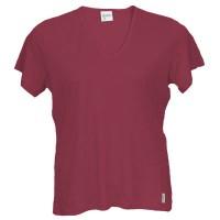 Women's V Neck Short Sleeve Top