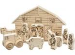 Schoolhouse Naturals Farm Play Set